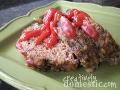 Creatively Domestic: Meatloaf in the Crockpot