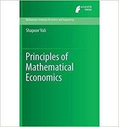 Télécharger [(Principles of Mathematical Economics)] [ By (author) Shapoor Vali ] [December, 2013] Gratuit