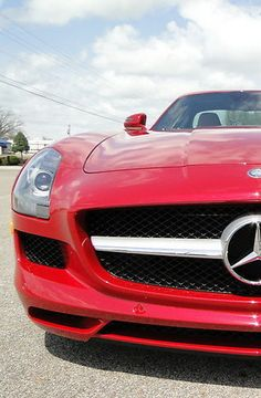 Stunning Mercedes-Benz SLS AMG convertible. Perfect for #TopDownTuesday #spon