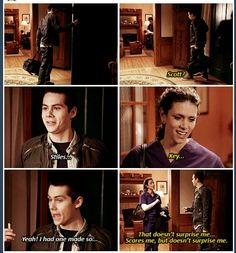 Mama McCall and Stiles