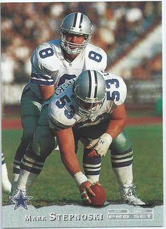 DALLAS COWBOYS - Mark Stepnoski 41 Pro Set 1993 NFL Collectable ... #nflfootballplayer Dallas Cowboys Football, Dallas Cowboys Rings, Nfl Football Players, American Football Players, Football Memes, Cowboys Players, Real Cowboys, Sports Memes, Cincinnati Bengals