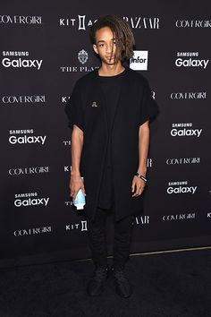 New York Fashion Week! Jaden Smith attends the 2015 Harper's BAZAAR ICONS Event at The Plaza Hotel on September 16, 2015 in New York City.
