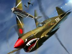 Dog Fight P-40 Flying Tigers