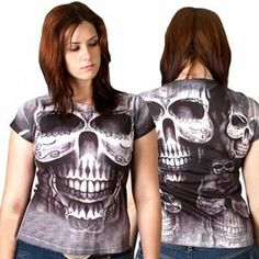 Picture of All-Over Skull Sublimation