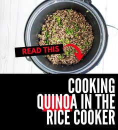 This gluten free quinoa recipe that you can make on the weekend for meal prep is PERFECT for my healthy diet.  I am so happy I found this tutorial on How to Make Quinoa in a Rice Cooker.  Is is easy to make and SO full of flavor. #wendypolisi #dinner #healthy #cookingquinoa #quinoa #recipe Best Quinoa Recipes, Gluten Free Recipes For Breakfast, Quinoa Salad Recipes, Healthy Gluten Free Recipes, Gluten Free Dinner, Vegetarian Recipes, Dinner Recipes, Perfect Quinoa, Healthy Meats