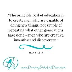 What NEW thing are you doing?  #pin #jeanpiacet  sent via @latergramme