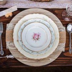 Gorgeous Rustic Chic Table Setting! #KoyalWholesale #rustic #chic #bridalshower #babyshower #birthday #decor #tablesetting #wedding