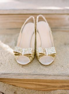 To say we love these Kate Spade glitter pumps is an understatement Photography By / staceyhedman.com, Planning, Styling   Floral Design By / lovelylittledetails.com