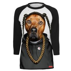 Just putting it out there- Santa, I want this for xmas!    Fab.com | Doggy Style Pup Raglan