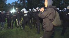 Vor G20-Gipfel in Hamburg: Erste Zusammenstöße zwischen Polizei und Demo...