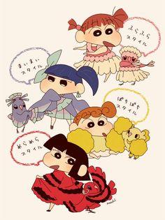 Twitter Sinchan Wallpaper, Kawaii Wallpaper, Galaxy Wallpaper, Illustration Kawaii, Pokemon, Crayon Shin Chan, Cute Cartoon Drawings, Fujoshi, Anime Style