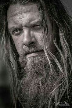 A war vet and Sinner since before Jagger& time, Shaggy had earned his road name because of his full beard and unkempt long hair& now almost fully gray, that he claimed had never been trimmed in twenty years. Viking Men, Viking Warrior, Hair And Beard Styles, Long Hair Styles, Long Hair Beard, Paranormal Romance Books, Viking Culture, Long Beards, Norse Vikings