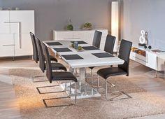Een design eettafel staat garant voor een stukje gezelligheid in je eetkamer. De stijlvolle Eettafel Edmonton is een echte blikvanger en heeft een onweerstaanbaar design. Met deze hoogglans witte eettafel creëer je een centrale plek in je eetkamer waar iedereen samen kan komen. De design eettafel trek meteen je aandacht bij binnenkomst. Het eigentijdse ontwerp en de mooie afwerking maken de hoogglans witte eettafel tot een echte must have.