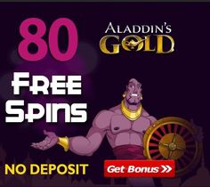 80 free spins: no deposit bonus for new players by Aladdins Gold Casino. The Aladdin's Gold casino is currently offering any Free Spins No Deposit. Aladdin's Gold online casino is one of the best of RTG casinos, offering a variety of games. Sign up and enjoy your Aladdins Gold bonus - 80 free Spins for registration. Exceptional Bonus Offer for US Players Here. The terms and conditions of the free spins Тhe registration Bonus Сode: BETPROFIT80 Accepted Players from USA/Uk/Ca/Au! Free Casino Slot Games, Online Casino Slots, Best Online Casino, Online Casino Bonus, Best Casino, Casino Reviews, Money Games, Aladdin, Free Money