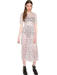 White Lace Floral Dress - Maxi Dress - Cute Summer Dress - $50
