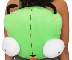 Invader Zim Gir Plush Backpack