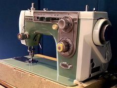 Vintage Janome New Home Simplicity Sewing Machine