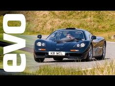 McLaren F1 and Ferrari F40 vs analogue rivals | evo TV | 'old school' supercars ~ lightweight, massive power, and no drivers aids.  EVO take more than 4%MM worth of hardware to the northern parts of Wales V8s, a V10, and V12s - a mechanical symphony of the highest order.