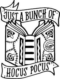 """Just A Bunch Of Hocus Pocus"" Stickers by formanwho Halloween Vinyl, Fall Halloween, Halloween Crafts, Halloween Table, Halloween Stickers, Halloween Signs, Halloween Stuff, Halloween Makeup, Hocus Pocus Halloween Decor"