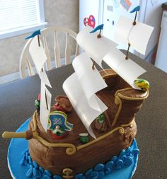 Veggie Tales Jonah Birthday Cake