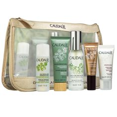 Shop Caudalie Favorites at Sephora. This five-piece skin care set features portable essentials for a glowing complexion.