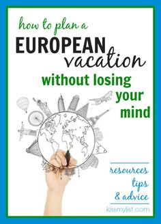 Tips, itinerary planning, and resources for planning your own European vacation. Many are great for domestic travel too.