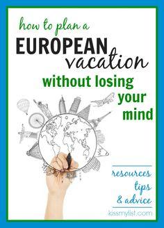 european vacation tips