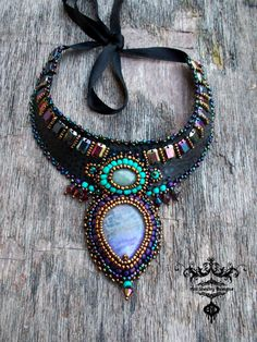 Galaxy necklace ring bracelet  set spring fashion by AniDandelion