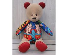 Vintage Fabrics, Uk Shop, Superman, Bespoke, Bears, Trending Outfits, Unique Jewelry, Handmade Gifts, Awesome