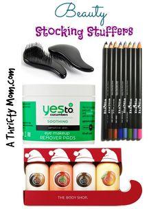 Beauty Stocking Stuffers #GiftsForHer #StockingStuffersForHer