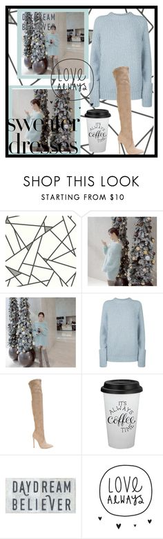 """""""Sweater Weather"""" by fancysid ❤ liked on Polyvore featuring Frame, Gianni Renzi, Fall, contest, Blue, coffee and knee"""