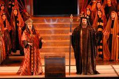 Greek Mezzo-Soprano Markella Hatziano as Dalila in Samson et Dalila