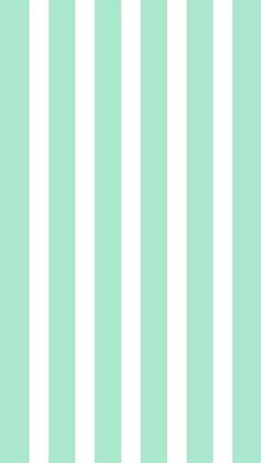 Mint Green and White Stripes