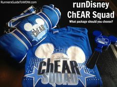 A review of the runDisney ChEAR Squad and determining what package is best for your spectators! http://www.runnersguidetowdw.com/chear-squad-review/