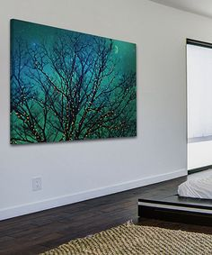 Loving this Magical Night Gallery-Wrapped Canvas on #zulily! #zulilyfinds
