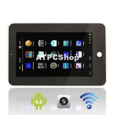 """ATM7013 7"""" Resistive Screen Android 4.0 4GB Tablet PC with Camera from Android Tablet and Phone $99.90  #tablet #cell #phone #computer #shopping #shop #deals #PC #wireless #smart #tv #Media #Player #Cloud #droid #Market #Google #Phone #samsung #samsungTablet #SaveonTablets #TabletComputer"""