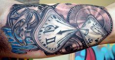 sowa z zegarem tatuaż - Szukaj w Google