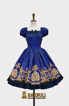 Gorgeous! Haenuli - Royal Crown OP in Blue (also available in black and red).