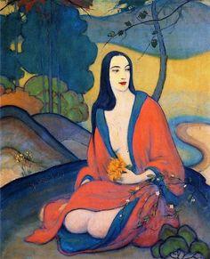 John Palmer Wicker(1860ー1931)「Autumn」(1924)