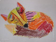 Первый опыт рисования гелиевой ручкой. Варвара 5 лет фото 8