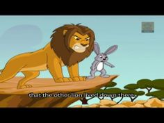 Tales of Panchatantra - The lion and The Rabbit - Moral Stories for Children - YouTube
