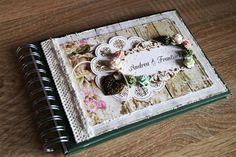Svatební kniha hostů - Vintage No.1 All Paper, Paper Design, Wedding Cards, Cardmaking, Stationery, Paper Crafts, Advertising, Scrapbooking, Notes
