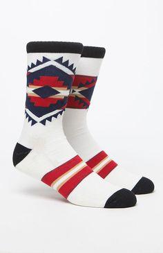 Atticus Stripe Crew Sock