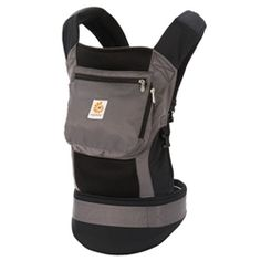 Ergo Baby Carrier Performance (Black / Charcoal) - Perfect for an active parent who are looking to take their baby along for the fun. #ergobaby #babycarrier