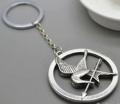 The Hunger Games Mockingjay Key Chain