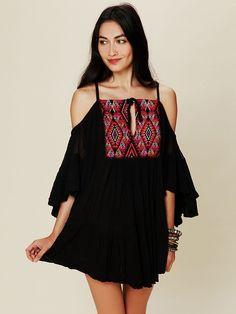 Free People El Matador Mini Dress, $194.00