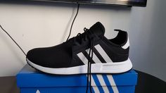 sports shoes 962a8 676f6 UNBOXING THE NEW X PLR black and white