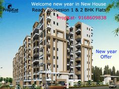 Welcome new year in New Home Ready possession #1BHK #2BHK Flats #PropKat-9168609838  #Pune #NewYear #ReadyPossession