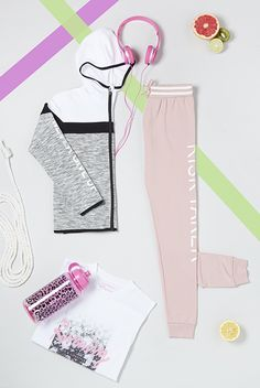 How cute is this activewear for the little ones?!