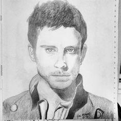 Guy Berryman #retrato #drawing #coldplay